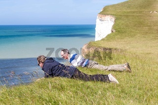 Seven Sisters National Park, view from the white cliffs , East S