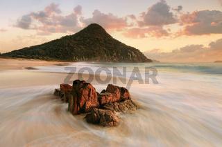 Port Stephens Zenith Beach sunrise tourism