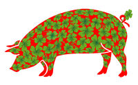 Schweine Glueck.eps