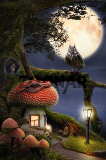 fairytale house (mushroom)