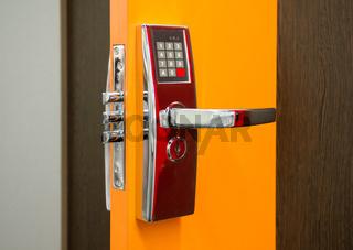 Elektronisches Sicherheitstürschloss Electronic Security door lock