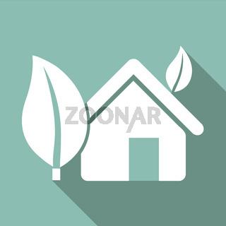 Eco Flat Icon
