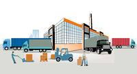 Spedition Logistik Industrie,