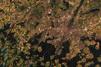 Satellite image of Munich, Germany