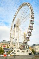Ferris wheel, Brussels eye, Belgium