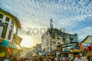 Sri Lanka Candy skyline (Perahera festival)