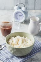 Milk rice porridge