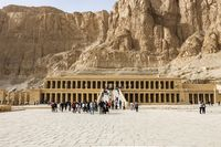 Mortuary Temple of Hatshepsut is a mortuary temple of ancient Egypt dedicated to Amun and Hatshepsut