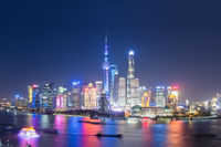 beautiful shanghai night