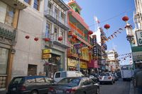 China Town district of San Francisco