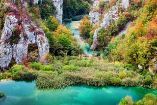 Autumn Valley Landscape
