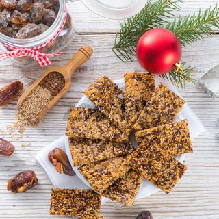 flax Sesame seed candy