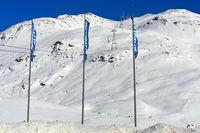 Piz Lagalb, Skigebiet Diavolezza-Lagalb, Pontresina, Val Bernina, Engadin, Graubünden, Schweiz