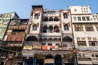 chandni chowk market hotel buildings