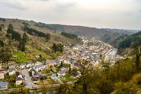 View of the city of Vianden
