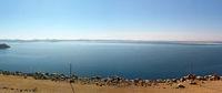 Blick vom Assuan Staudamm auf den  Nassersee