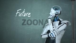 Future Thinking Humanoid Robot