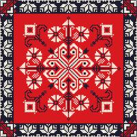 Romanian traditional pattern 190