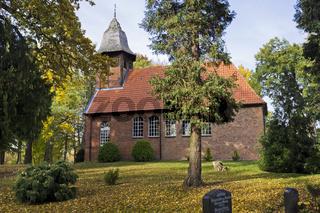Dorfkirche in Gresse, Deutschland