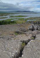 Grabenbruch bei Thingvellir, Island