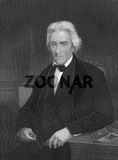 Andrew Jackson, 1767 - 1845, the seventh President of the United States