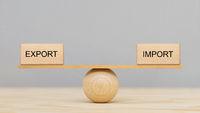 Export und Import im Gleichgewicht