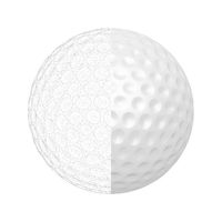 3D model of golf ball
