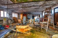Lost Places hehemalige Werkstatt