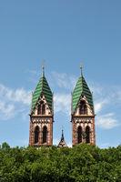 Herz - Jesu Kirche in Freiburg im Breisgau