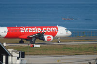 AirAsia Airbus taxiing