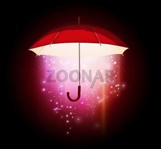magical umbrella