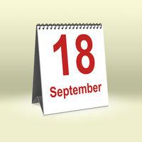 September 18th | 18.September
