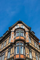 Historisches Gebäude in Wernigerode im Harz