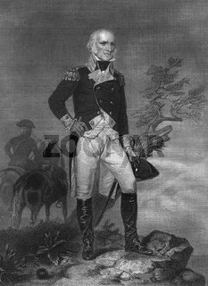 John Stark, 1728 - 1822,  a major general in the Continental Army