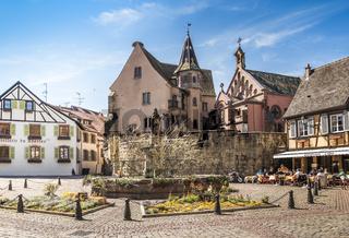 place du chateau st. léon, eguisheim