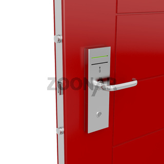 Keycard door