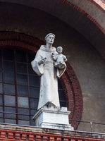 Statue of Saint Anthony in Vienna