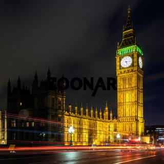 View of Big Ben at Nighttime