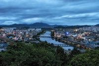 Suncheon city view