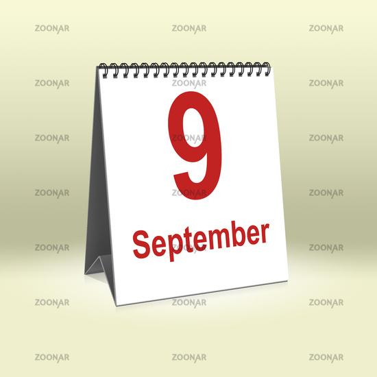 September 9th | 9.September