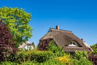 Traditionelles Haus auf dem Fischland-Darß in Wieck