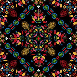 Hungarian embroidery pattern 33