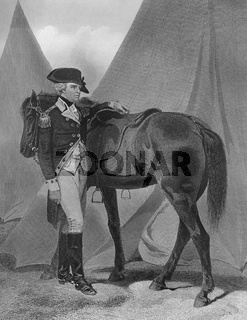 Anthony Wayne, 1745 - 1796, an American general and politician
