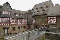 Stahleck Castle near Bacharach