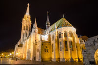 Hungary, Budapest, Matthias Church. City View