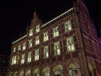 weihnachten am bocholter Rathaus