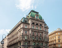 Old beautiful building in center of Vienna