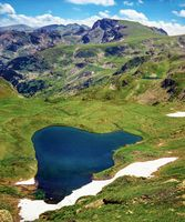 Rila mountain Urdini lakes, Bulgaria