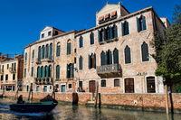 venedig, italien - 20.03.2019 - rio dei carmini im stadtviertel dorsoduro