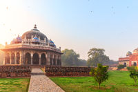 Isa Khan's tomb in the Humayun's Tomb complex, New Delhi, India